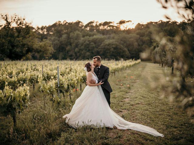 Le mariage de David et Audrey à Entrecasteaux, Var 55