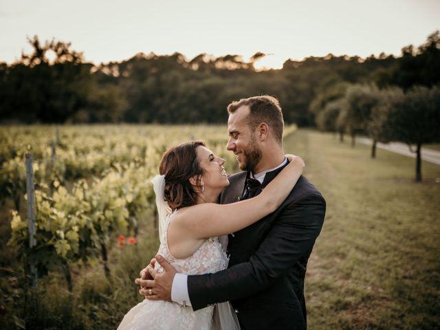 Le mariage de David et Audrey à Entrecasteaux, Var 56