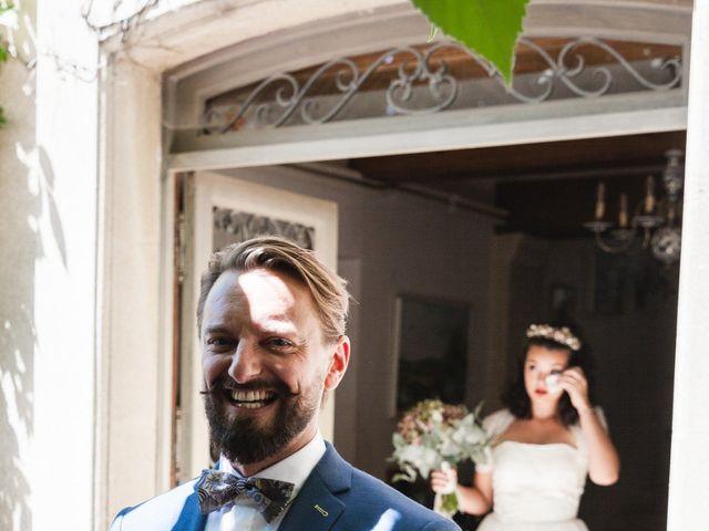 Le mariage de Julien et Camille à Gigondas, Vaucluse 8