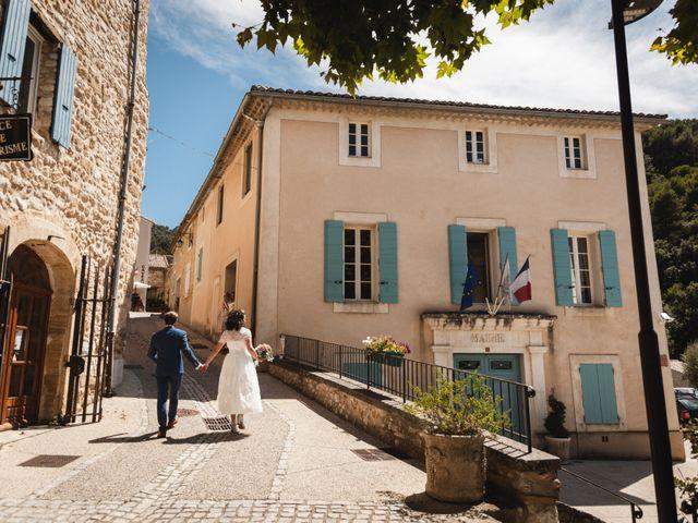 Le mariage de Julien et Camille à Gigondas, Vaucluse 11