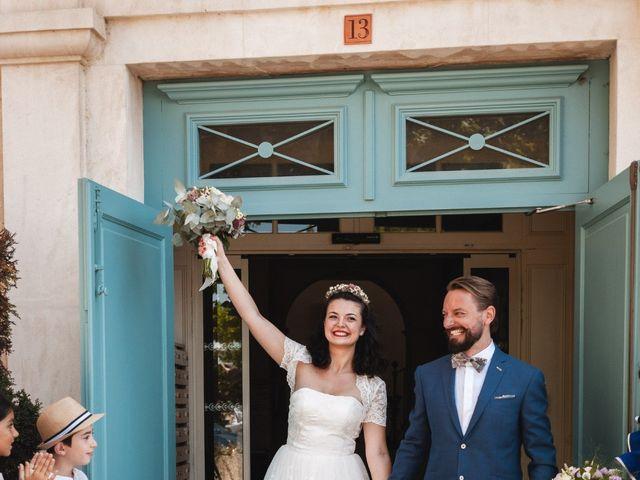 Le mariage de Julien et Camille à Gigondas, Vaucluse 13