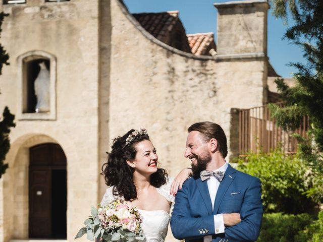 Le mariage de Julien et Camille à Gigondas, Vaucluse 15