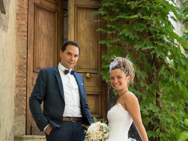 Le mariage de Damien et Amandine à Guéreins, Ain 10