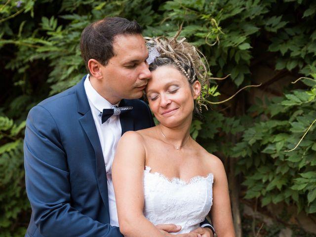 Le mariage de Damien et Amandine à Guéreins, Ain 11