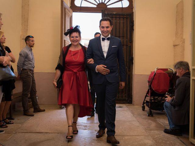 Le mariage de Damien et Amandine à Guéreins, Ain 23