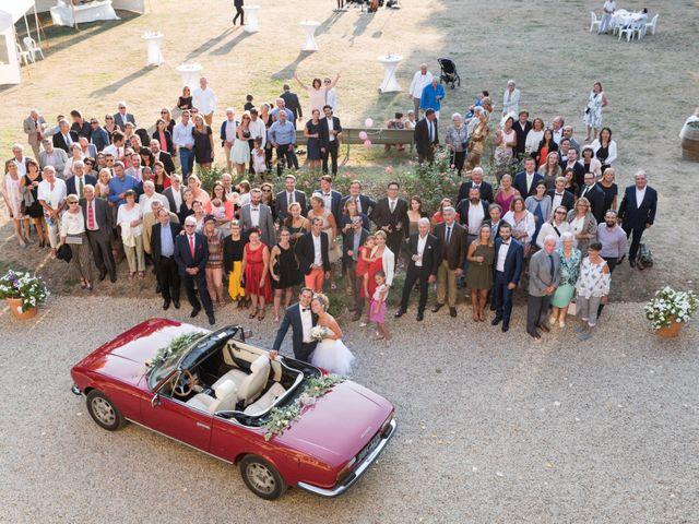 Le mariage de Damien et Amandine à Guéreins, Ain 30