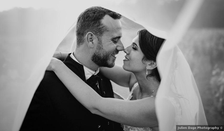 Le mariage de David et Audrey à Entrecasteaux, Var