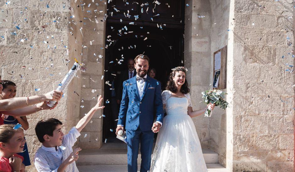 Le mariage de Julien et Camille à Gigondas, Vaucluse