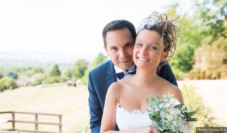 Le mariage de Damien et Amandine à Guéreins, Ain