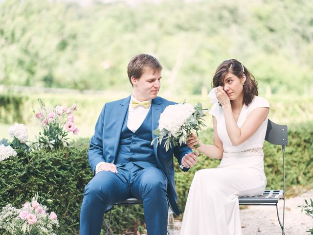 Le mariage de Gabriel et Marie-Ange à Saint-Thomas-en-Royans, Drôme 35