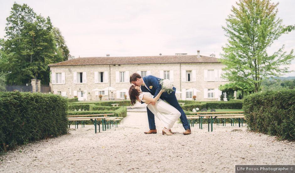 Le mariage de Gabriel et Marie-Ange à Saint-Thomas-en-Royans, Drôme