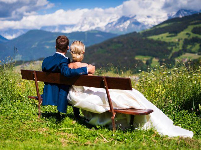Le mariage de Damien et Marion à Megève, Haute-Savoie 7