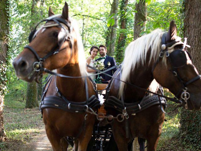 Le mariage de Thibault et Marine à Bougue, Landes 56