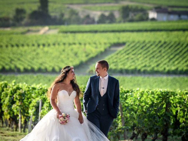 Le mariage de Michaël  et Sarah à Saint-Émilion, Gironde 37