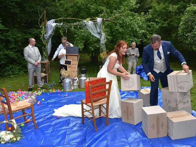 Le mariage de Franck  et Sabrina à Mergey, Aube 12