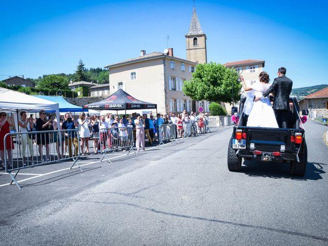 Le mariage de Romain et Severine à Beaujeu, Rhône 13