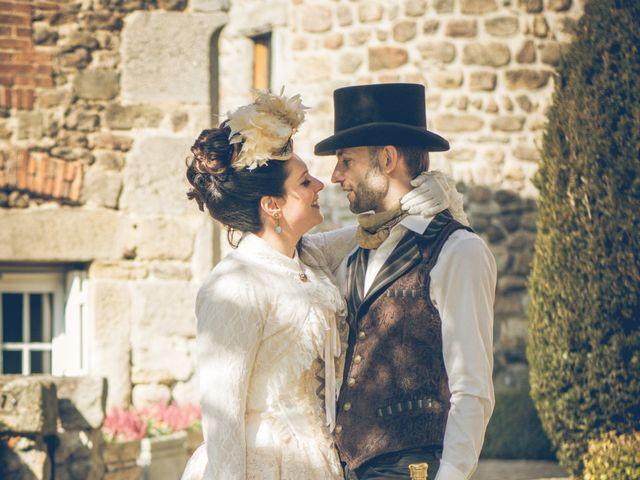 Le mariage de Guillaume et Karin à Saint-Victor-sur-Loire, Loire 6