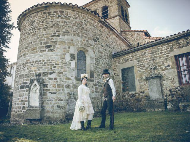 Le mariage de Guillaume et Karin à Saint-Victor-sur-Loire, Loire 9