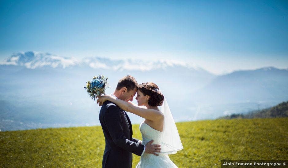 Le mariage de Alban et Stéphanie à Saint-Ismier, Isère