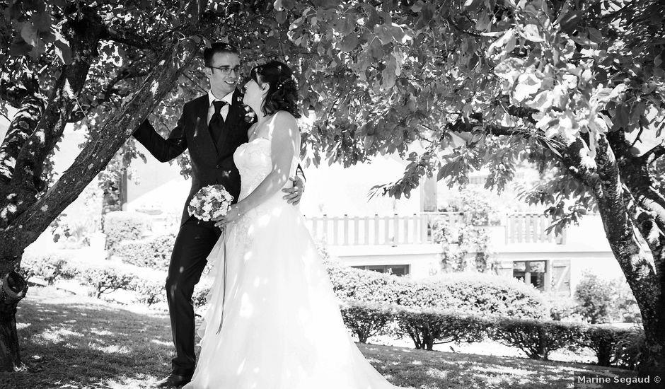 Le mariage de Romain et Severine à Beaujeu, Rhône