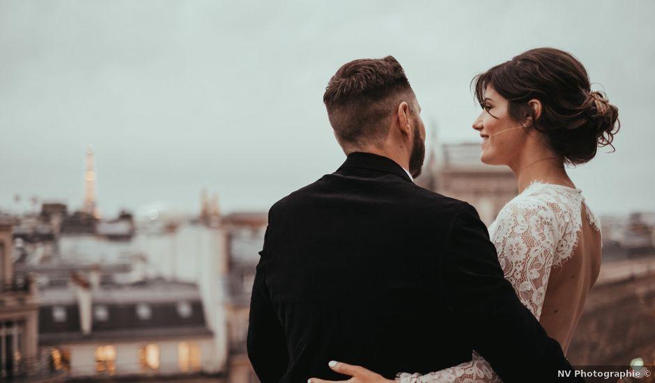 Le mariage de Damien et Laura à Paris, Paris