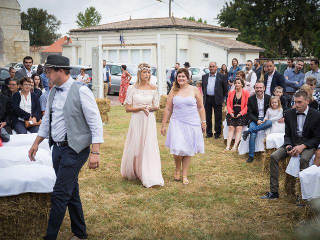 Le mariage de Steeve et Lucie à Saint-Hilaire-du-Bois, Charente Maritime 20