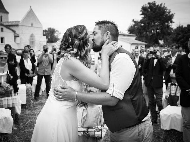 Le mariage de Steeve et Lucie à Saint-Hilaire-du-Bois, Charente Maritime 39