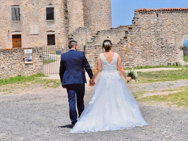 Le mariage de Gautier  et Blandine  à Saint-Maurice-en-Gourgois, Loire 1
