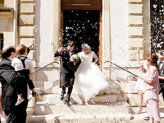 Le mariage de Hélène et Manuel à Aigues-Vives, Gard 11