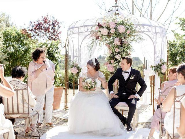 Le mariage de Hélène et Manuel à Aigues-Vives, Gard 33