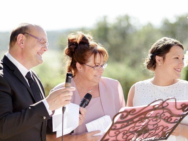 Le mariage de Hélène et Manuel à Aigues-Vives, Gard 34