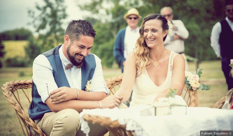 Le mariage de Steeve et Lucie à Saint-Hilaire-du-Bois, Charente Maritime