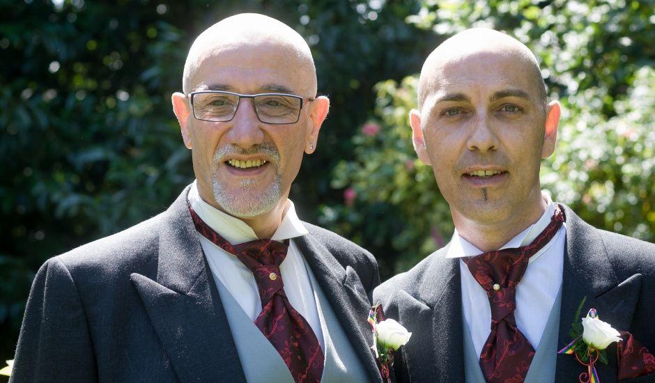 Le mariage de Yves et Martial à Saint-Jacut-les-Pins, Morbihan