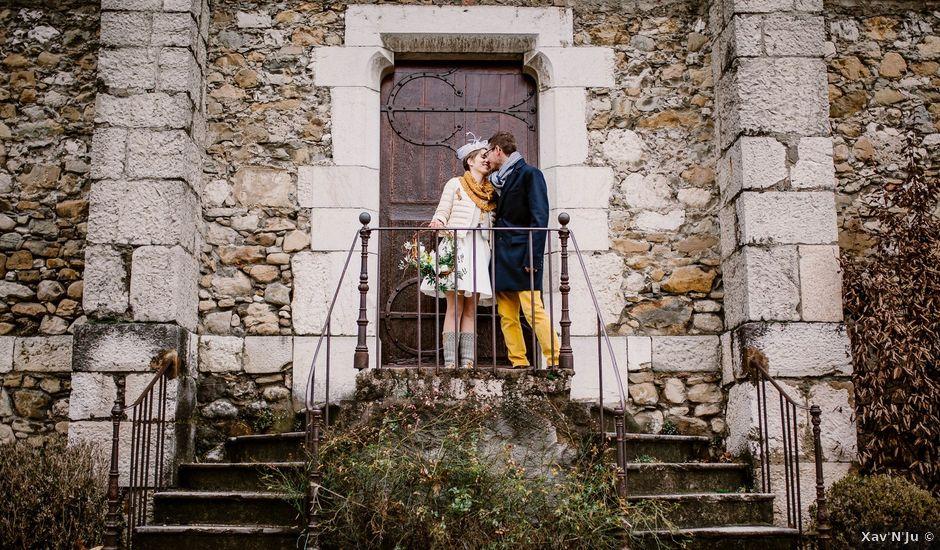Le mariage de Benjamin et Marion à Le Touvet, Isère