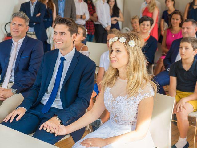 Le mariage de Louis-Marie et Hind à Scy-Chazelles, Moselle 12