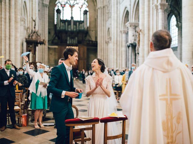 Le mariage de Gildéric et Camille à Saint-Valérien, Yonne 22