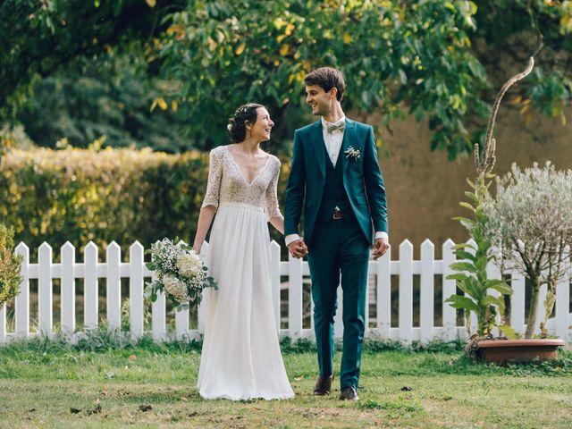 Le mariage de Gildéric et Camille à Saint-Valérien, Yonne 42