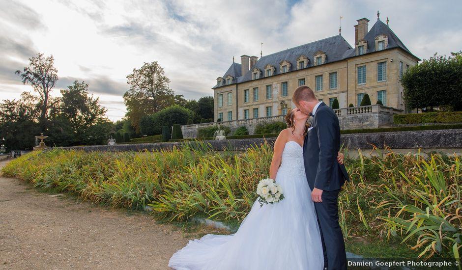 le mariage de nicolas et lucie franconville val doise - Chateau Mariage Val D Oise