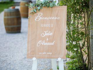 Le mariage de Julie et Arnaud 1