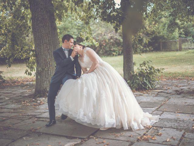 Le mariage de David et Domitille à Vernaison, Rhône 9