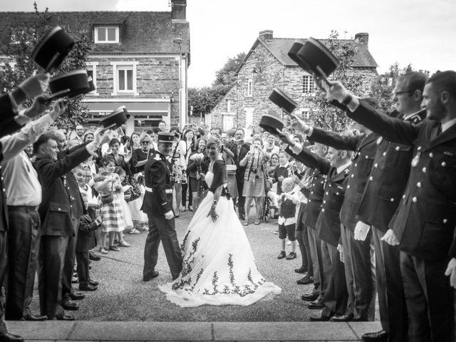 Le mariage de Laurent et Fanny à Paimpont, Ille et Vilaine 16