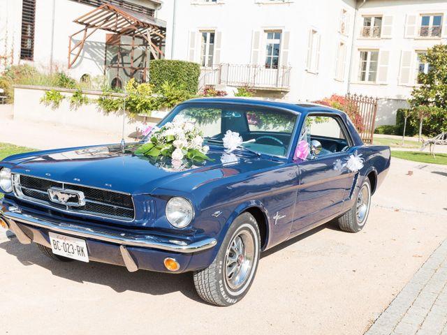 Le mariage de Delphin et Delphine à La Chapelle-de-Guinchay, Saône et Loire 5