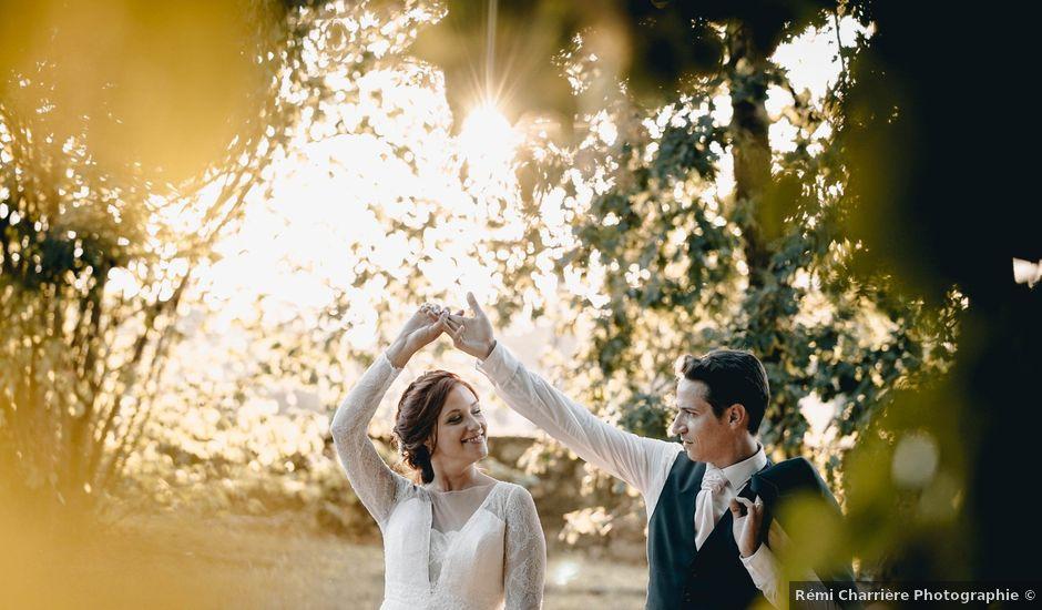Le mariage de Adrien et Célia à Pessac-sur-Dordogne, Gironde