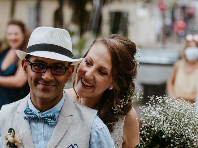 Le mariage de Wilfried et Céline à Saint-Gilles les Bains, La Réunion 19