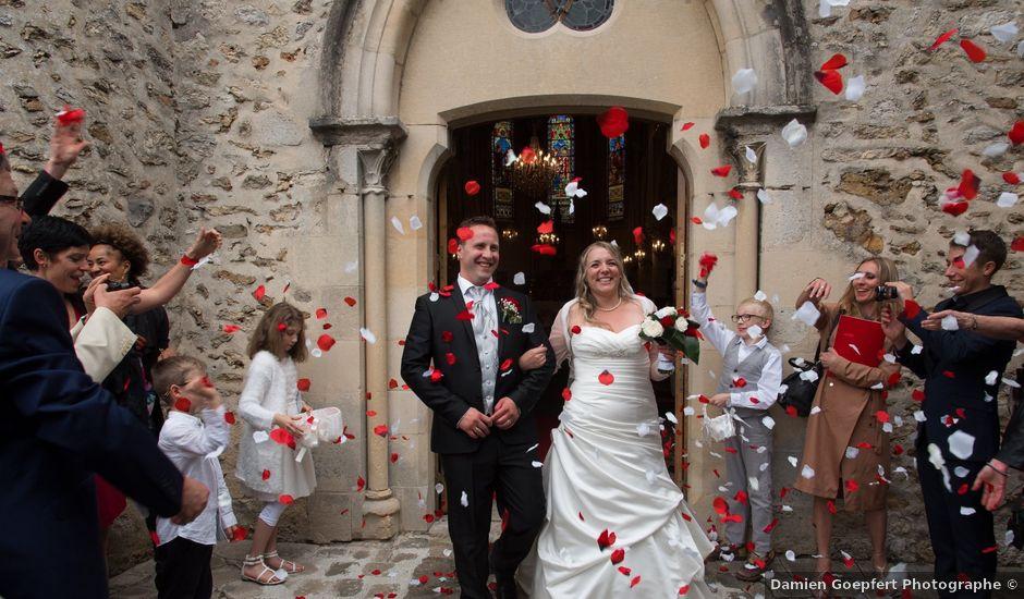 Le mariage de Jérôme et Stéphanie à Bussy-Saint-Georges, Seine-et-Marne