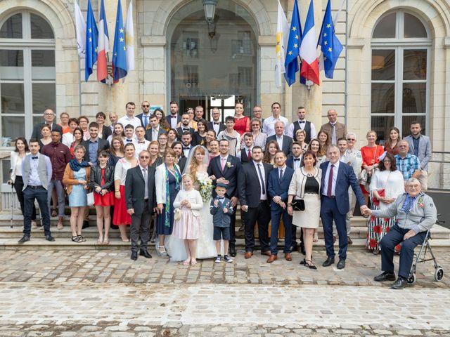 Le mariage de Adrien et Ophélie à Blois, Loir-et-Cher 25