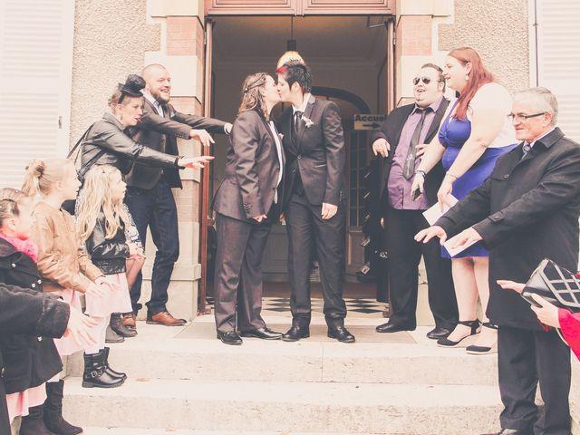 Le mariage de Sabrina et Emilie à Verneuil-sur-Avre, Eure 9