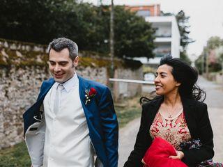 Le mariage de Gabrielle et Hubert 1