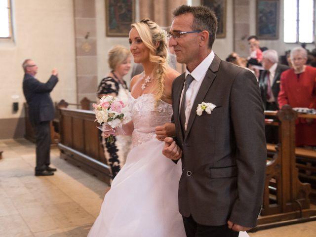 Le mariage de Damien et Cécilia à Blodelsheim, Haut Rhin 16