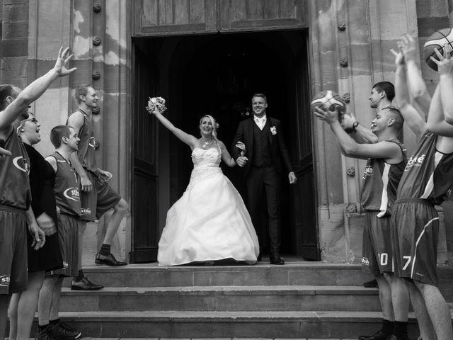 Le mariage de Damien et Cécilia à Blodelsheim, Haut Rhin 22